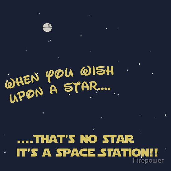 Wish upon a star....space station!