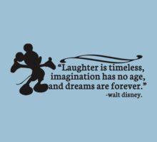 Walt Disney Quote T-Shirt