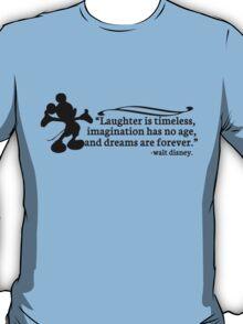 Walt Disney Quote T-Shirt