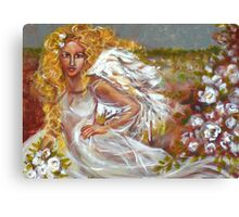 FIELD OF ANGELS Canvas Print