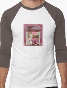 Macintosh Plus Vaporwave Gameboy Cartridge  Men's Baseball ¾ T-Shirt