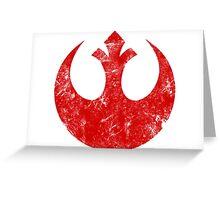 rebel logo Greeting Card