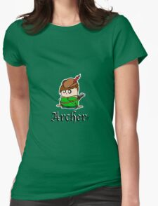 The Archer Womens Fitted T-Shirt