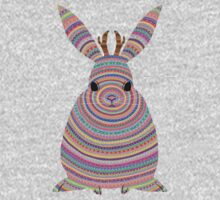 Colourful Jackalope Kids Tee