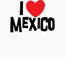 I Love Mexico Womens Fitted T-Shirt