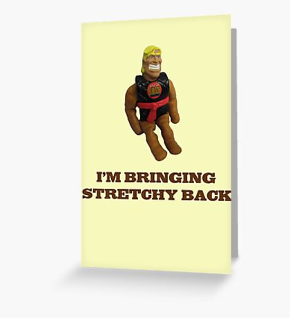 Stretchy Back Greeting Card