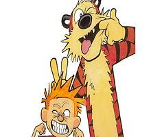 Calvin and Hobbes by vehrtical