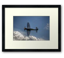 Hawker Sea Fury Pass Framed Print