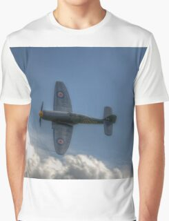 Hawker Sea Fury Pass Graphic T-Shirt