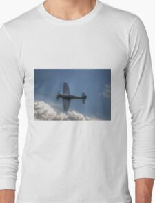 Hawker Sea Fury Pass Long Sleeve T-Shirt
