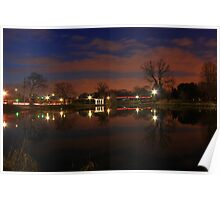 Lisle Nightscape Poster