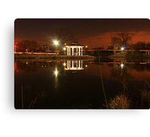 Night Reflections Canvas Print