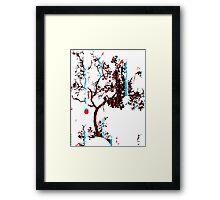 Vector Tree Framed Print