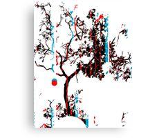 Vector Tree Canvas Print