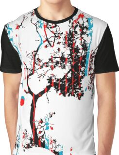Vector Tree Graphic T-Shirt