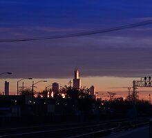 Blue Chicago by Adam Kuehl