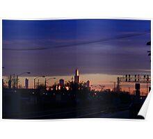Blue Chicago Poster
