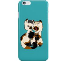 """What is a cat?"" She asked iPhone Case/Skin"