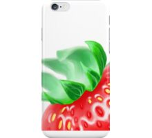 The Strawberry is Tight iPhone Case/Skin