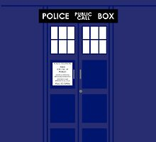 The TARDIS by kittenblaine