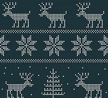 Wintergreen Nordic Sweater Phone Case by yuliekayy
