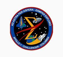 Spaceflight Memorial Patch Unisex T-Shirt