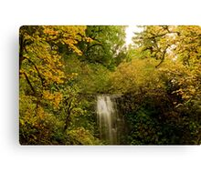 Autumn At Upper Terrace Canvas Print
