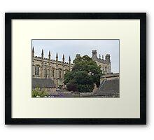 Oxford Christchurch College Framed Print