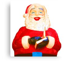 Send Your Letter To Santa Canvas Print