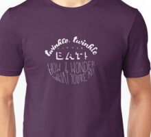 Alice in Wonderland: Twinkle Twinkle Unisex T-Shirt