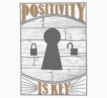 Positivity Is Key One Piece - Short Sleeve
