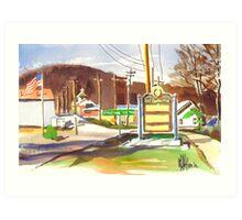 Fort Davidson, Pilot Knob  MO Art Print