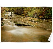 Lower McDowell Creek Falls Poster