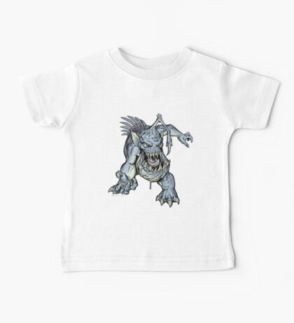 "ZOMBIE FISH Monster ""Kids Clothing"" Baby Tee"