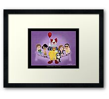 Stephen King's The IT Crowd Framed Print