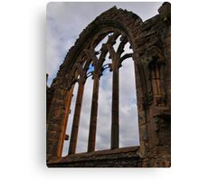 Elgin Window Canvas Print