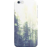 winter glitter iPhone Case/Skin