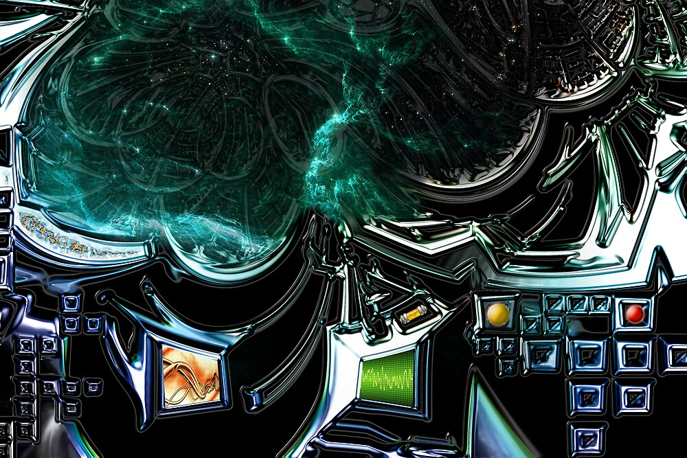 Wormhole Central by blacknight