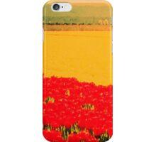 Tulip Field Blur iPhone Case/Skin