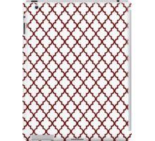 Red Moroccan iPad Case/Skin
