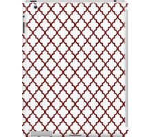 Red Moroccan iPad Case/Skin