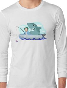Jaws of Hooper Long Sleeve T-Shirt
