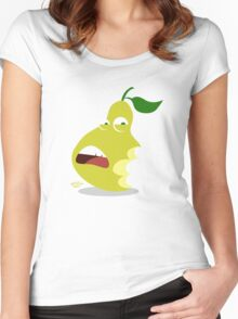 Pear of Chompers Women's Fitted Scoop T-Shirt
