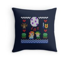Koholint Winter Sweater Throw Pillow