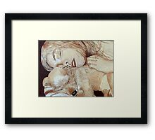 Maggie and Bo Framed Print