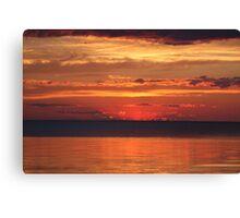 Wisconsin Sunset Canvas Print