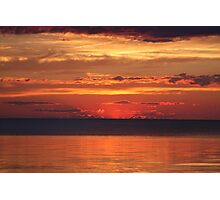 Wisconsin Sunset Photographic Print