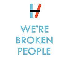 We're Broken People  by swangs