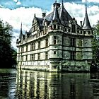 Château d'Azay-le-Rideau by hans p olsen