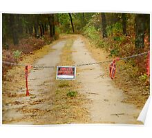 Private road on Chappaquidick Poster